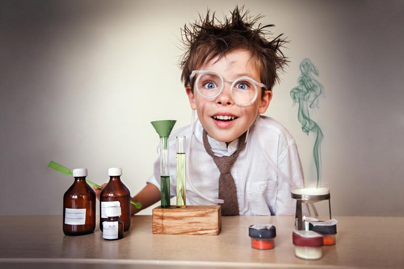 Kid scientist